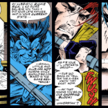 """""""As completely as I understand what happens when two people like each other very much."""" (X-Men #23)"""