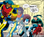 This is how you comic book. (Uncanny X-Men #301)