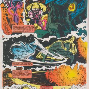Cerise X-Plains war crimes. (Excalibur #70)