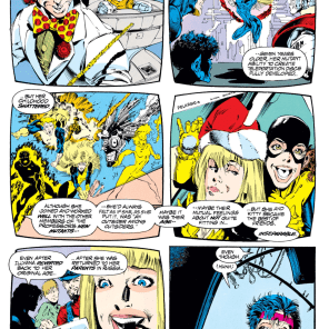 Jean X-Plains Kitty and Illyana. (Uncanny X-Men #303)