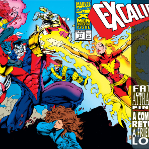 And then, everything got awkward. (Excalibur #71)