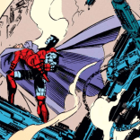 Please note that even bereft of his mind, Magneto's cape is DRAMATIC AS HELL. (X-Men #25)