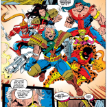 This is basically how everyone meets X-Force. (X-Force Annual #2)