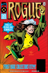I love this cover, and I love this series. (Rogue #1)