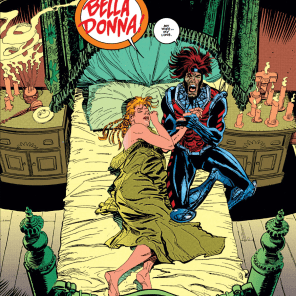 It seems weird that the first thing he did was throw his coat over her. That's weird, right? (Gambit #2)
