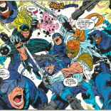 How much better would this issue have been if they'd done a skate-off? (X-Force #30)