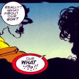 I love that Mystique still has her cigarette holder. (Sabretooth: Death Hunt #3)