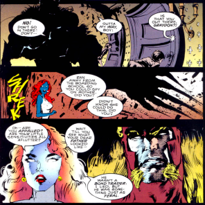 AND THEY ALL LIVED HAPPILY EVER AFTER PROBABLY (Sabretooth: Death Hunt #4)