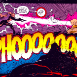 Ah, yes, the sound of telepathic soothing: PHOOOOOO. (Sabretooth: Death Hunt #1)