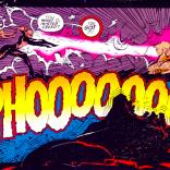 Ah, yes, the sound of telepathic soothing: PHOOOOOO. (Sabretooth: Death Hunt #1)