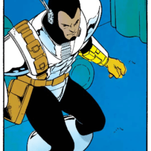I like this guy. He's sensible and he dresses like a Capcom protagonist. (X-Men Unlimited #3)