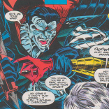 The odds that Mr. Sinister got that knife at a mall kiosk are basically 100%. (Excalibur #74)