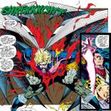 I love how extra Archangel is. (X-Men #29)