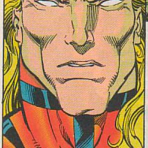 This is UNQUESTIONABLY the face of a man who has attempted to eat a toaster, a tube of lipstick, and several telephones. (Excalibur #76)