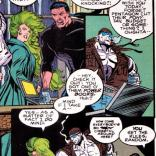 """Specifically, it may or may not be a PowerBook 500 series with one o' them newfangled Ethernet ports!"" (X-Factor #102)"