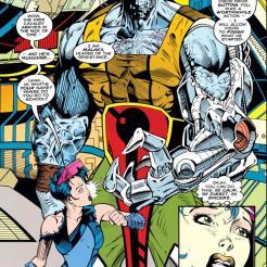 He's a hugger. (X-Men Annual #5)