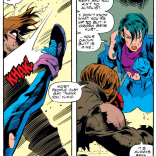 And then, another shovel talk. (X-Men #312)