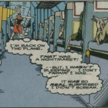 Cons: spooling nightmares and crashing planes. Pro: that plane is so spacious! (Excalibur Annual #2)