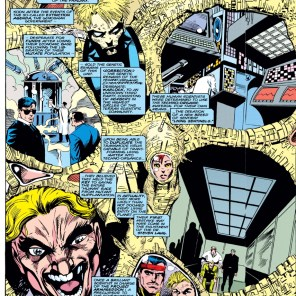 Douglock X-Plains the Phalanx. (X-Factor #106)