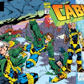 I like this cover more than it probably deserves. (Cable #16)
