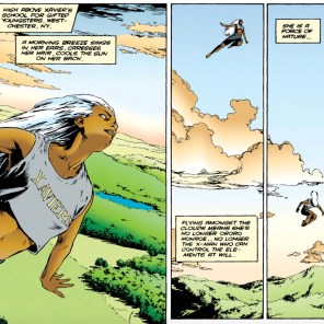 Gene Ha draws a really terrific Storm. (X-Man Annual #3)