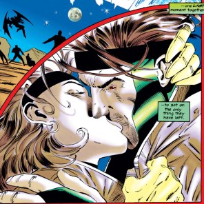 The best kiss in X-Men. (X-Men #41)