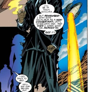 I want a team that's just him and Chamber, brooding. (Excalibur #86)
