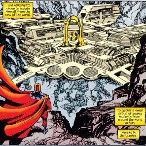 Scenic Wundagore Mountain. Don't get too attached. (X-Men: Chronicles #1)