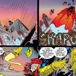 I know you're mad at Gambit, Rogue, but did you really have to punch his legs off? (Amazing X-Men #4)