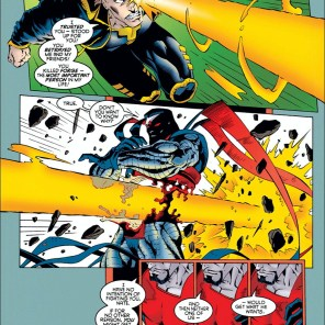 Jeph Loeb gets Sinister. (X-Man #4)