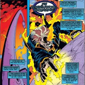 OBSCENE MONUMENT. (X-Man #4)