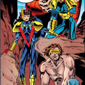 """Seriously, maybe let's listen to the only person who's not still wearing heavy armor in a desert."" (X-Men #44)"