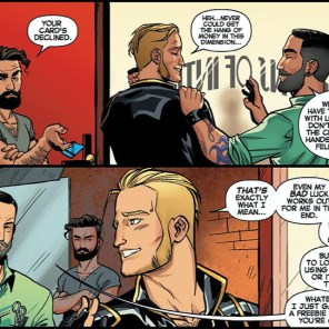 This haircut! Bring back this exact haircut! (Longshot Saves the Marvel Universe #1)