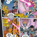 Pink was IN for pretty much all projectiles in 1995. (Uncanny X-Men #322)