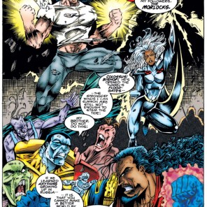 It's okay. They're just gonna end up in another dimension. Kind of. I guess. (Cable #15)