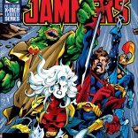 I would fairly definitely pick up this series just based on the first couple covers. (Starjammers #1)