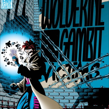 That Wolverine shadow looming over the title has a serious Maurice Sendak vibe. (Wolverine and Gambit: Victims #1)