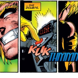 Seriously, Boomer, don't be friends with Sabretooth. (Uncanny X-Men #326)