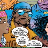 These three look like time travelers dressed in what each is certain everyone was wearing in 1995. (X-Men Annual 1995)