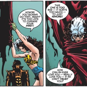 Aw, Rogue. (X-Men #45)