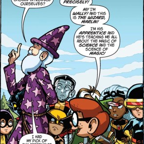 Wally and the Wizard (Bowdlerized version). (X-Babies: Stars Reborn #2)