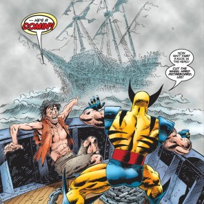 FUCKING GHOST PIRATES Y'ALL (X-Men Unlimited #9)