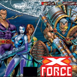 Look at all that cover! (X-Force #50)