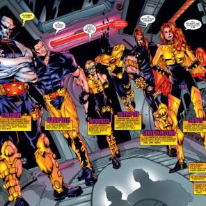 Go, team! (X-Force #50)