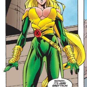 Meet the new Meggan: Now 50% more... boobs, I guess? (Excalibur #96)