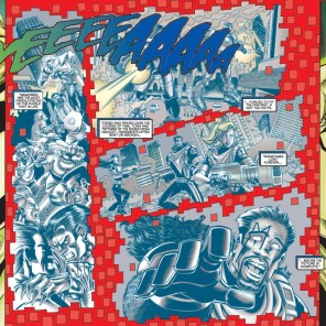 Depixelization is no fun, apparently. (Uncanny X-Men Annual 1996)