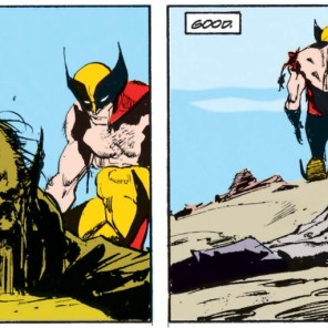 The Hand of God, everybody! (Wolverine #15)