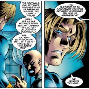 What the HELL, Professor X? (Uncanny X-Men #334)