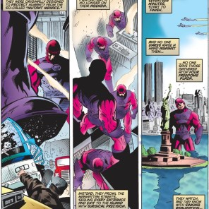 Somewhere, one is experimentally gnawing on Hearst Tower. (X-Men #55)