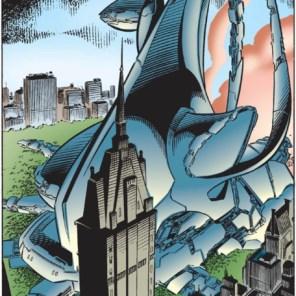 That certainly is an ebon citadel! (X-Men #55)